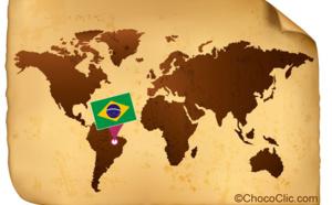 La provenance des fèves de cacao du Brésil
