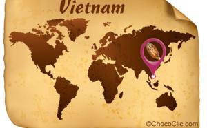 La provenance des fèves de cacao du Vietnam