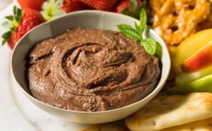 Houmous au chocolat : la collation (protéinée) de l'heure