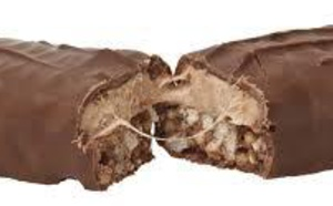 Les barres chocolatées