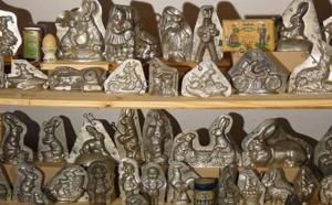 Les anciens moules chocolat en fer