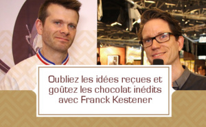 [VIDEO] Oubliez les idées reçues et goûtez les chocolats inédits avec Franck Kestener