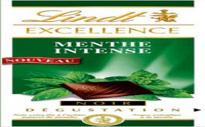 Nouvelle tablette Lindt Excellence Menthe Intense