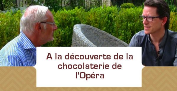 A la découverte de la chocolaterie de l'Opéra