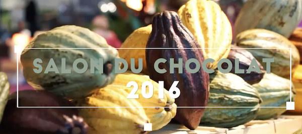 Le Salon du Chocolat de Paris 2016