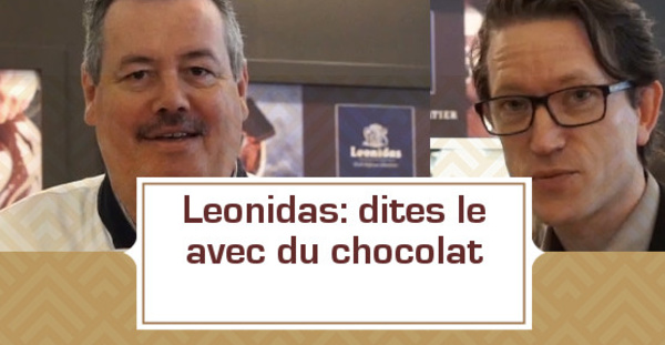 [VIDEO] Léonidas: dites le avec du chocolat