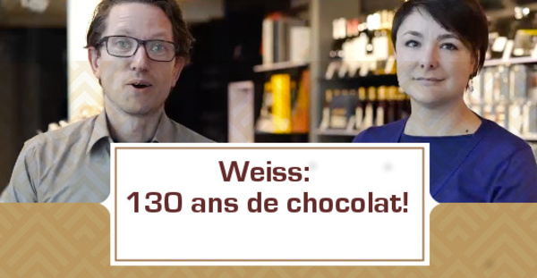 [VIDEO] Weiss: 130 ans de chocolat!