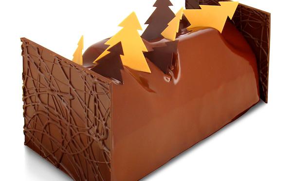 Bûches et sujets en chocolat s'invitent au noël de Christophe Roussel