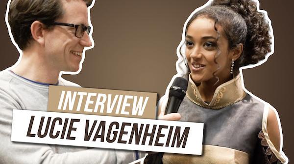 [VIDEO] Lucie Vagenheim porte la robe que j'ai sponsorisé!