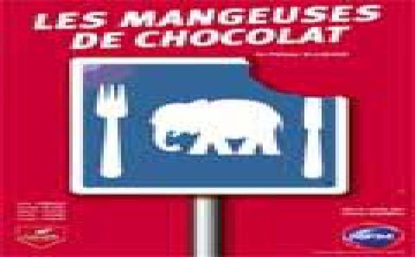 Théâtre : Les Mangeuses de chocolat mai 2003