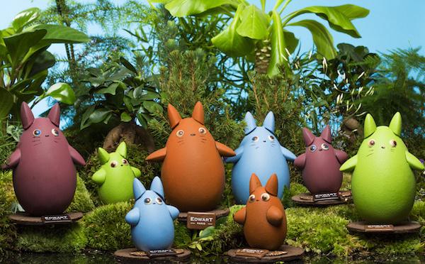 Quand le 7ième art s'invite dans le monde du chocolat : Totoro vu par Edwart