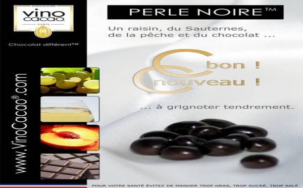 VinoCacao® PERLE NOIRE™ disponible au mois d'octobre