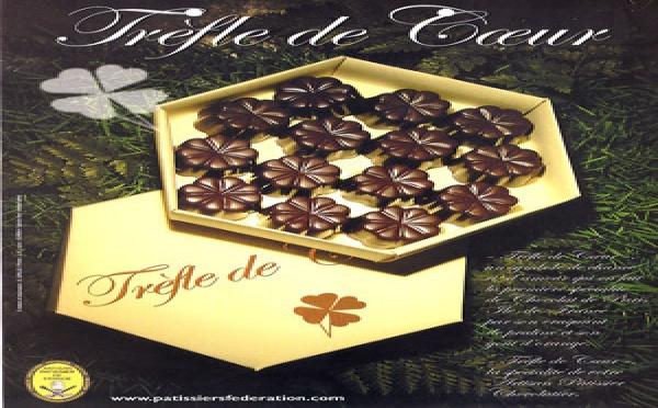 """Spécialité chocolat  """"Trèfle de Cœur"""""""