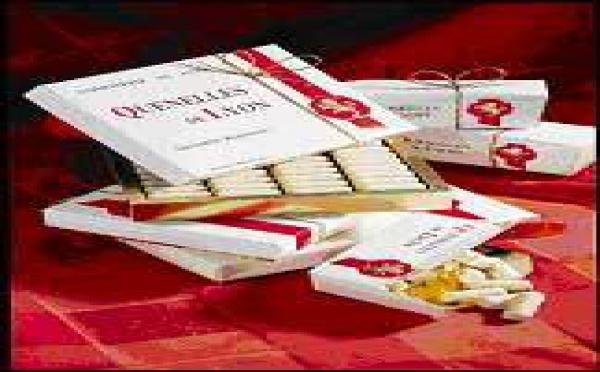 Spécialités des Chocolats Voisin : la Quenelle