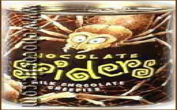 Les Araignées en chocolat