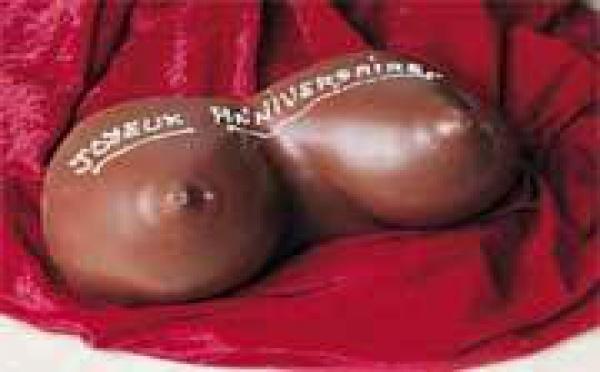 Les seins en chocolat