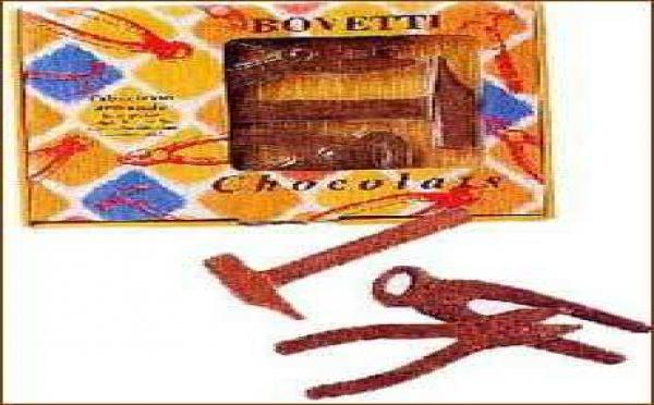 Les outils en chocolat