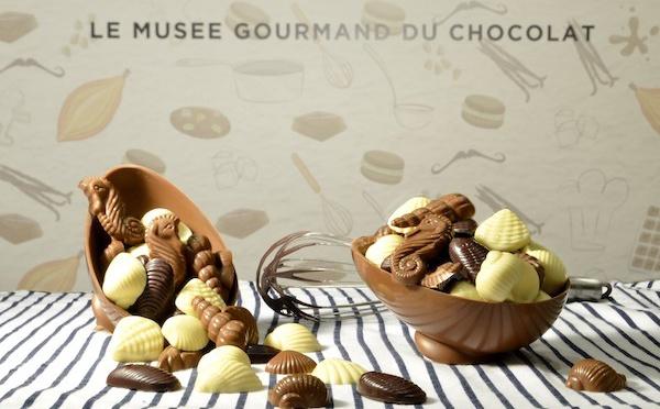 Pâques 2019 : un parcours plein de fantaisie au Choco-story Paris.