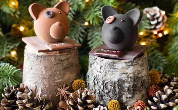 Le Noël de Zéphyr avec Edwart Chocolatier Paris.