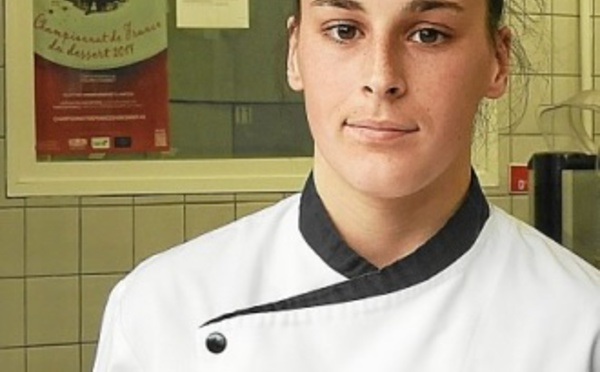 Justine Bernard remporte la médaille d'or en chocolaterie