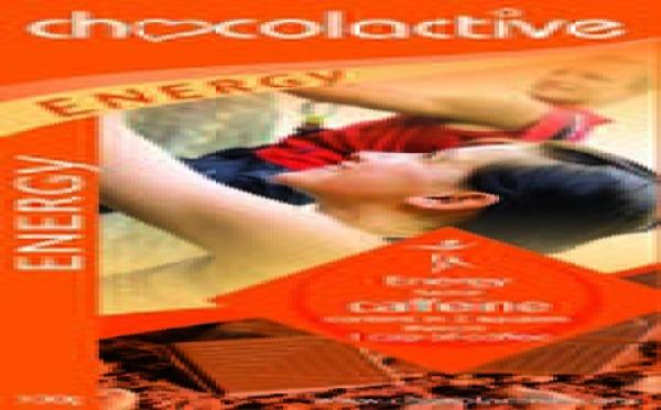 La tablette Chocolactive chocolat de l'énergie