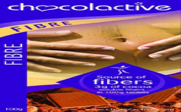 La tablette Chocolactive chocolat fibre