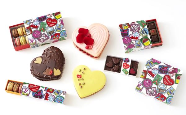 Créations gourmandes destinées aux inséparables pour la Saint-valentin 2020