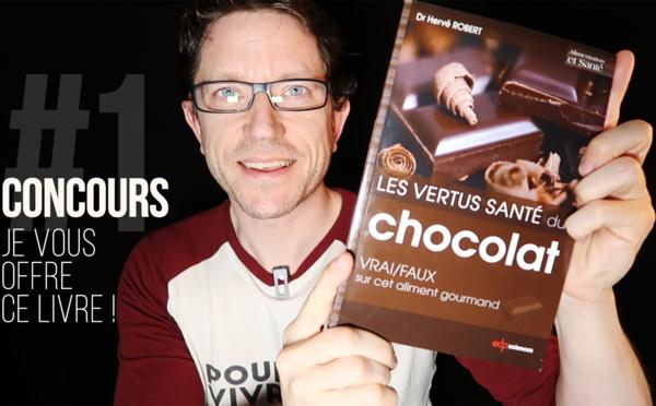 CONCOURS#1 🍫 Je vous offre le livre : Les vertus santé du chocolat !