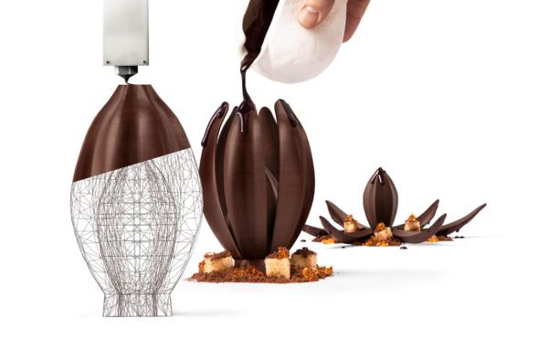 Barry Callebaut ouvre le premier studio d'impression 3D en chocolat au monde pour créer des expériences gustatives inédites