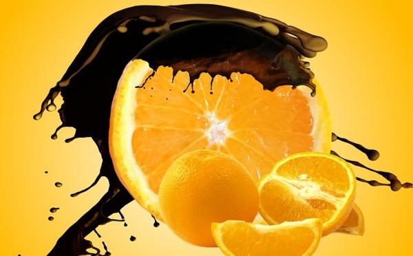 La recette de la bûche orange et chocolat