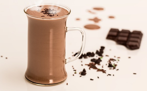 La recette du Chocolat chaud à la vanille