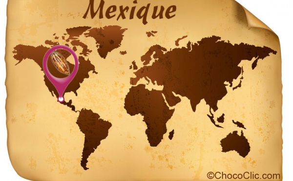 La provenance des fèves de cacao du Mexique