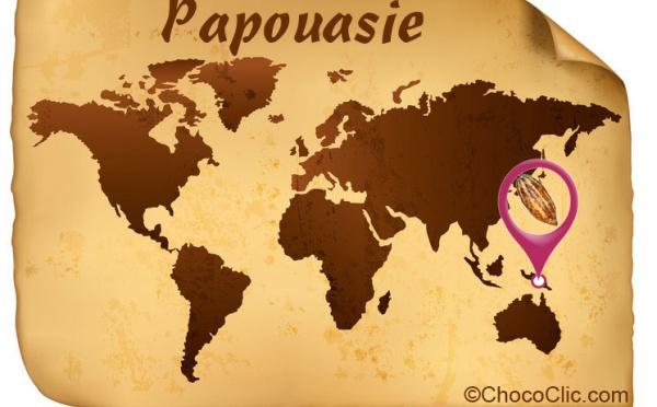 La provenance des fèves de cacao de Papouasie