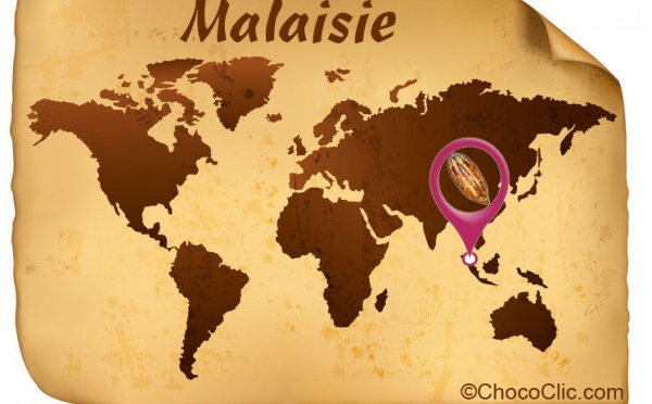 La provenance des fèves de cacao de Malaisie
