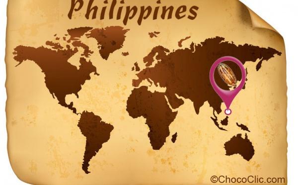 La provenance des fèves de cacao de Philippines