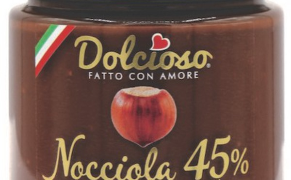 Les pâtes à tartiner DOLCIOSO détrônent Nutella sans hésiter....