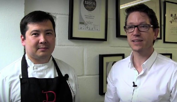 La Passion Chocolat à l'anglaise avec Marc Démarquette