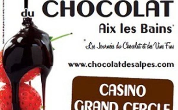 7e Salon du Chocolat à Aix-les-Bains