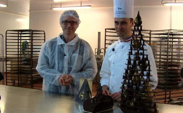 Le Sapin de Noël Enchanteur par la Maison du Chocolat