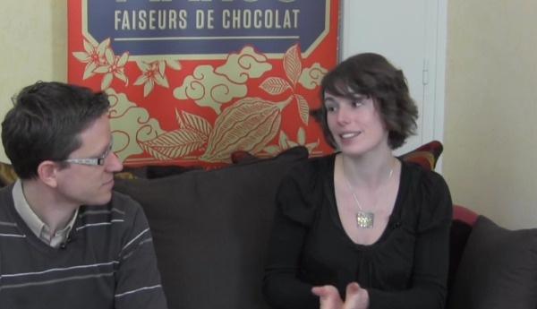 Dégustation avec Klervi Mandon de la tablette chocolat Marou Ba Ria 76%