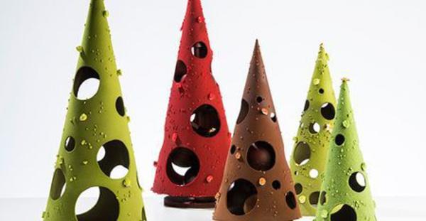 Tendances Chocolats de Noël 2014 : Design stylisé et Couleurs flashy à l'honneur