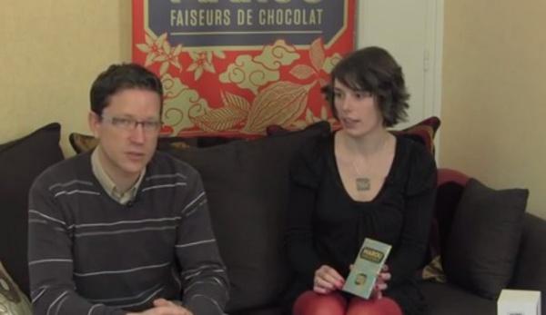 Dégustation avec Klervi Mandon de la tablette de chocolat Marou Lam Dong 74%