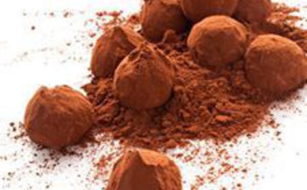 Les truffes au chocolat