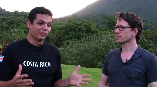 Le fabuleux pays faune et flore au Costa Rica