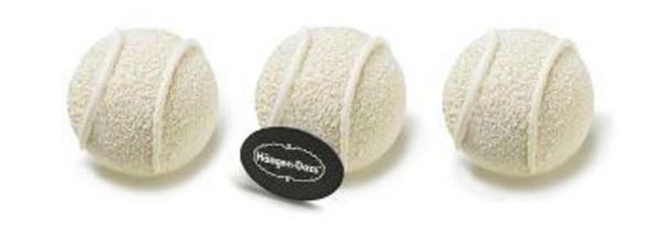Les Balles Rétro de Häagen-Dazs s'invitent dans les courts de tennis…
