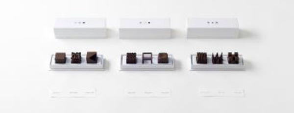 Nendo, le chocolat du designer.