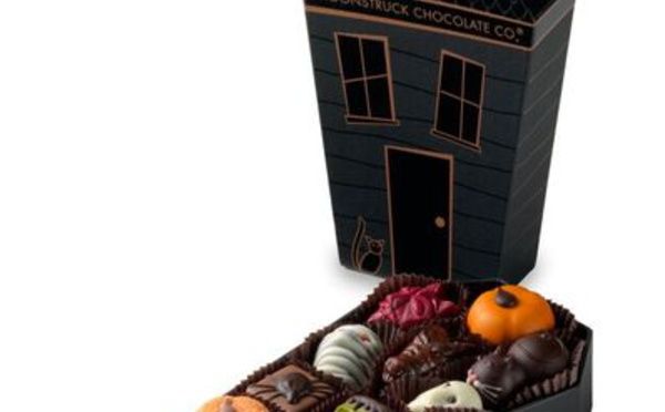 Les chocolats de Moonstruck Chocolate Co. se déguisent pour Halloween
