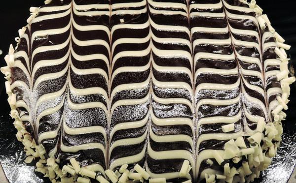 Comment préparer un savoureux zébré chocolat pistache