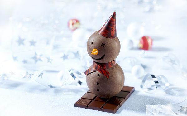 Un Noël féérique et gourmand avec l'Atelier du chocolat et la maison Henri Leroux