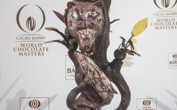 Michaël Cotard, ambassadeur du Canada aux World Chocolate Masters 2015.